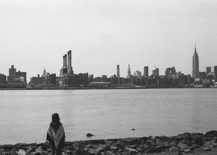 IN FRONT OF US: MANHATTAN FROM BROOKLYN