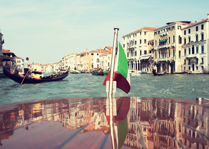 IN FRONT OF US: VENICE, ITALY