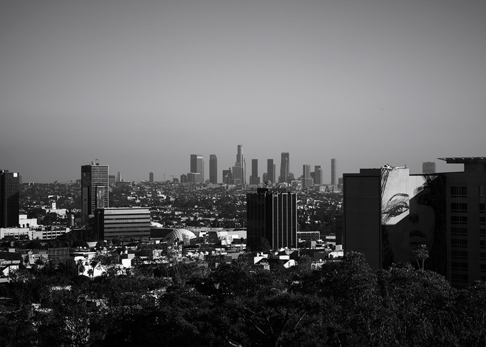 In front of us: portraits from Los Angeles
