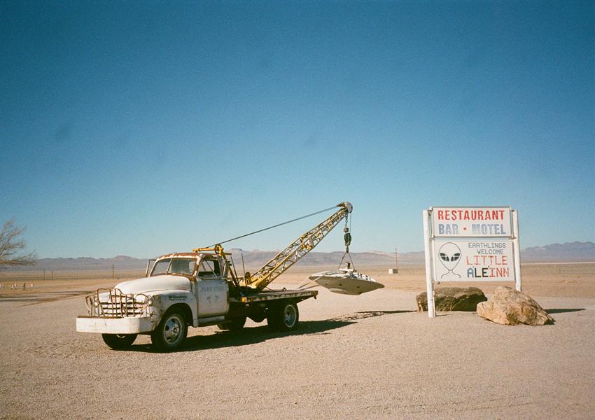 On The Road: Rachel, Nevada