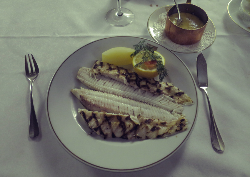 The Swedish Chef: Sole Grillée at La Colombe d'Or
