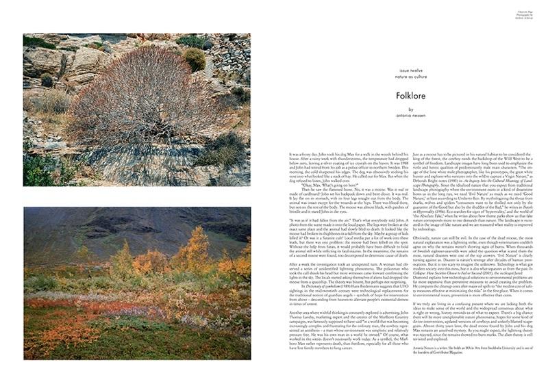 Folklore. Essay by Antonia Nessen