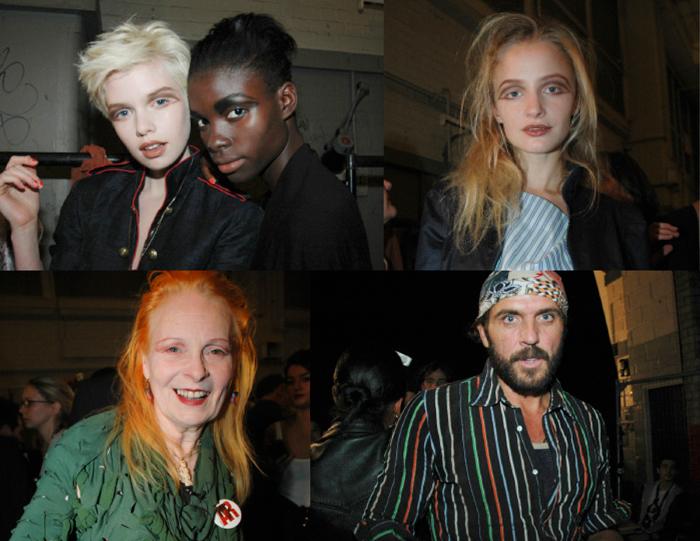 Vivienne Westwood Backstage
