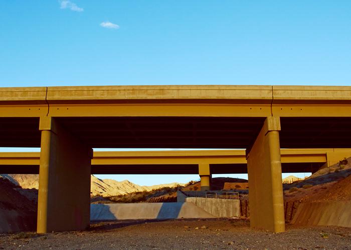 Photographer Manfredi Gioacchini travels from California through Nevada and into Arizona to explore the space.