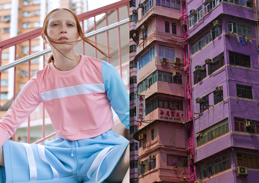 Fashion Story: When I dream, I dream in Color