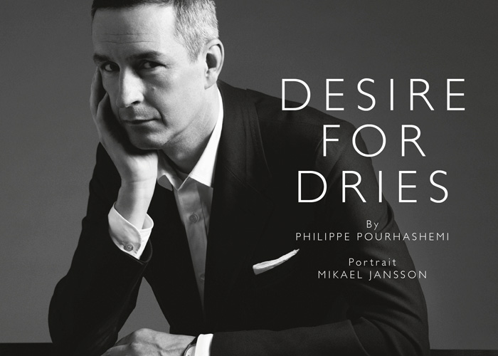 Desire for Dries. Interview with Dries van Noten